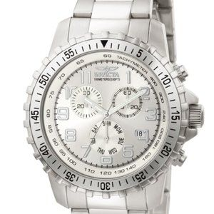 Invicta 45mm Stainless Steel Chronograph Watch
